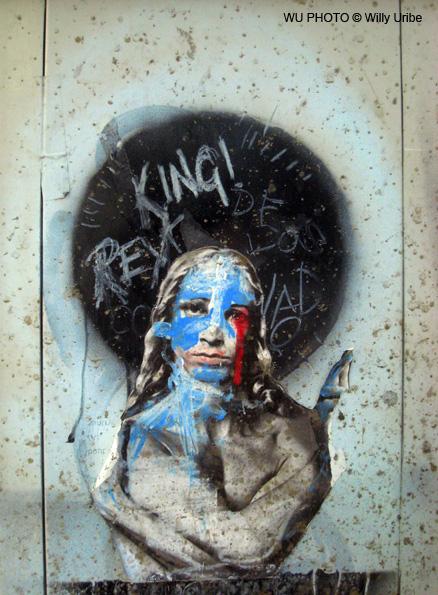 Graffity Cristo Raval Barcelona WU PHOTO © Willy Uribe