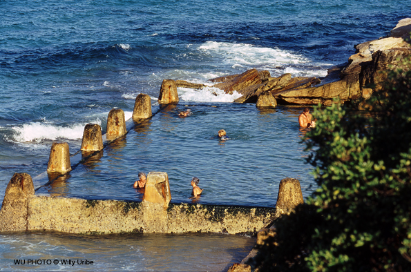 Piscina, swimming pool, Coogee Beach, Sydney, Australia WU PHOTO © Willy Uribe