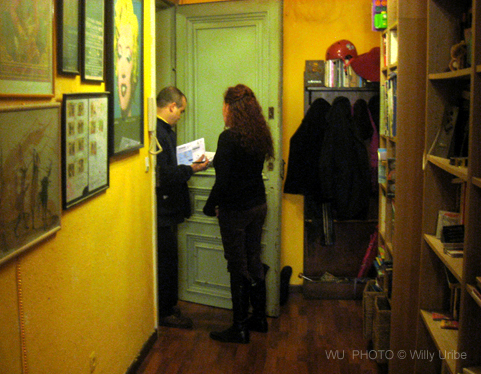 A la puta calle. Libro desahucio Cristina Fallarás