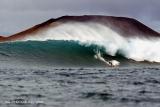 Big waves surfing Gary Elkerton. Lanzarote. Canary Islands. Spain.
