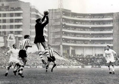 José Ángel Iribar. Héroes del balompié. Athletic de Bilbao.