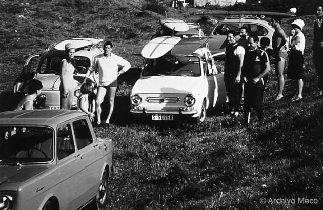 Primeros surferos cántabros. Década de los 60. historia del surf en España