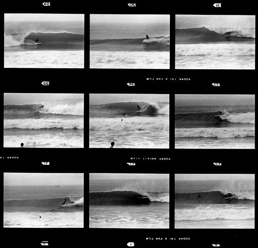 Surf Sopelana años 70 Negativo blanco y negro 35 mm Tengo Sitio Libre. Blog de Willy Uribe