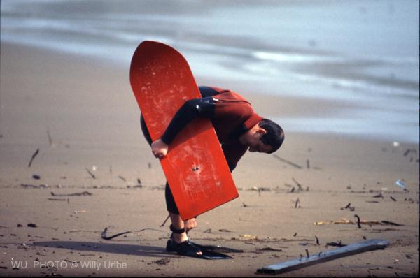 Txosean Ariño planking Ereaga Getxo surf Tengo Sitio Libre. Blog de Willy Uribe
