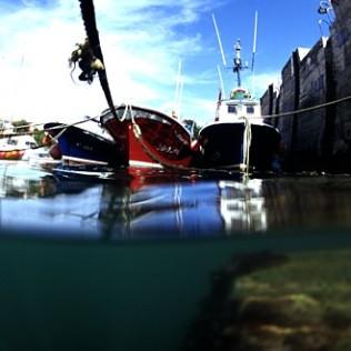 Mundaka harbour. Basque Country. WU PHOTO © Willy Uribe Archivo fotográfico Reportajes