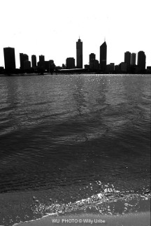 Perth skyline. Australia. WU PHOTO © Willy Uribe Archivo fotográfico Reportajes