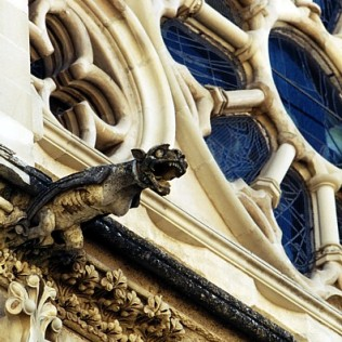 Gárgola. Catedral de Cuenca. Gargoyle Cuenca Cathedral. Spain. WU PHOTO © Willy Uribe