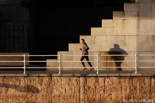 Running. Bilbao. WU PHOTO © Willy Uribe