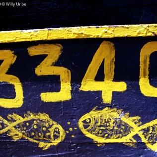 Matrícula pesquero. Marruecos. WU PHOTO © Willy Uribe Archivo fotográfico Reportajes