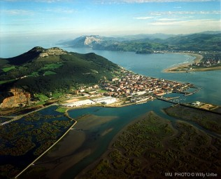 Santoña. Cantabria. Spain. Fotografía aérea. WU PHOTO © Willy Uribe Archivo fotográfico Reportajes