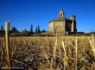 Santa María de Eunate. Románico. Navarra. WU PHOTO © Willy Uribe Archivo fotográfico Reportajes