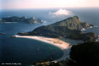 Praia das Rodas. Islas Cíes. Vigo. Galicia. WU PHOTO © Willy Uribe Archivo Fotográfico Reportajes