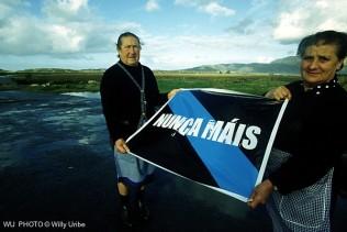 Nunca Mais. Prestige oil spill. Galicia. Spain. WU PHOTO © Willy Uribe Archivo fotográfico Reportajes