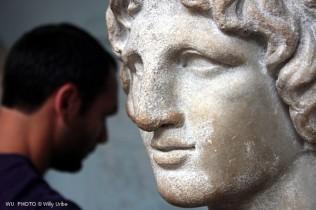 Mathilda marble head. British Museum. London. WU PHOTO © Willy Uribe Archivo Fotográfico Reportajes