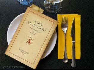 Libre de sent soví. Restaurante Mam i Teca. El Raval - Barcelona. WU PHOTO © Willy Uribe