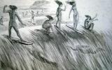 La historia del surf en España. De las primeras expediciones al Pacífico a los años 70