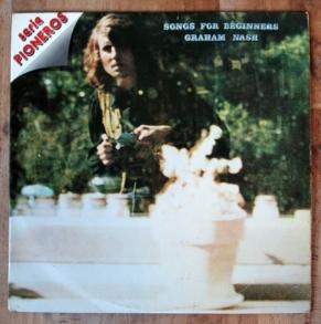 Graham Nash. Songs for beginners. Tengo Sitio Libre. Blog de Willy Uribe