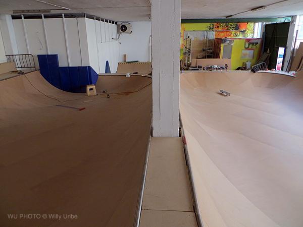 UK skatepark indoor Berango