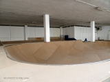UK skatepark indoor Berango