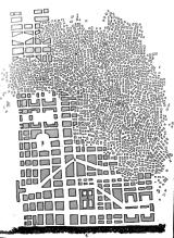 Barcelona. Trazado urbano de una tarde de invierno
