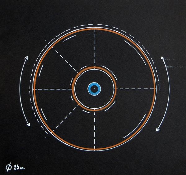 La casa circular. Tengo Sitio Libre. Willy Uribe, 2015