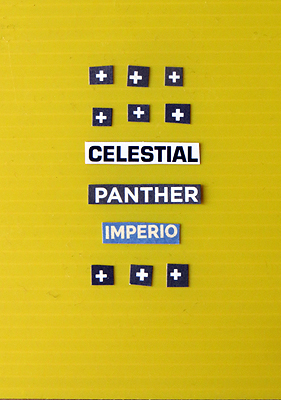 Celestial Panther. Relatos Tipográficos. Willy Uribe