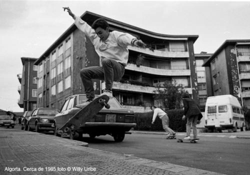 Skate Algorta – Getxo (Bizkaia) Comienzos de los 80's
