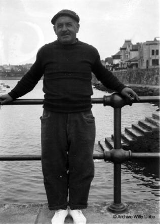 Marineros del Abra de Bilbao. Años 20 del siglo XX. © Archivo Willy Uribe