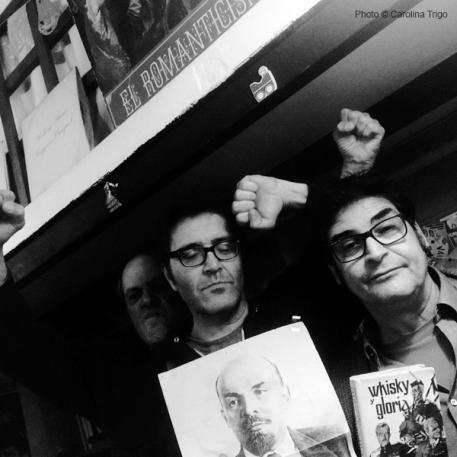 Gora Lenin! Llibreria de la LLuna. El Raval. Barcelona. 2016. Tengo Sitio Libre. Blog de Willy Uribe