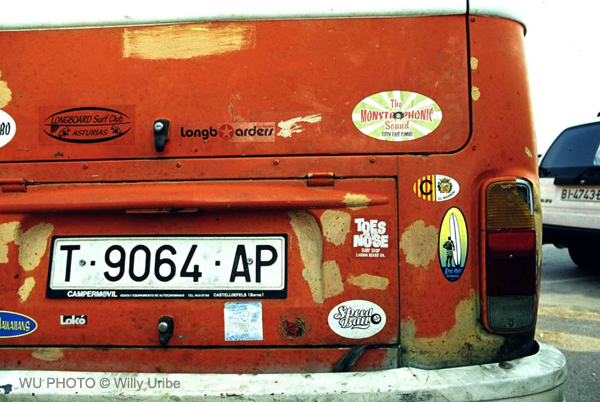 Furgonetas surferas. Surf vans. Tengo Sitio Libre. Blog de Willy Uribe