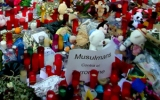 Homenaje a las víctimasde Las Ramblas. Barcelona. Agosto 2017